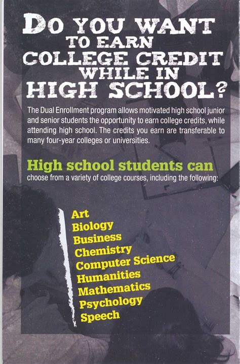 city colleges  chicago dual credit dual enrollment