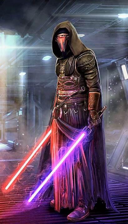Revan Darth Wallpapers Wars Star Side Iphone