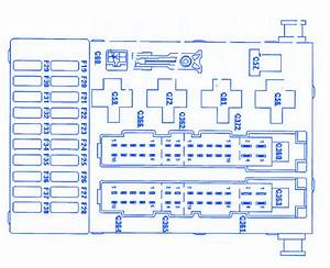 Ford King Ranch 2002 Interior Light Fuse Box  Block Circuit