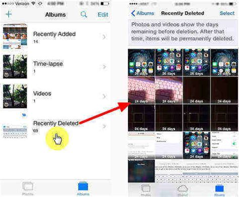recently deleted photos iphone how to recover iphone photos deleted from the recently 2393