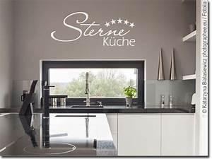 Farbgestaltung Küche Wand : wandtattoo sterne k che zur kreativen wandgestaltung ~ Markanthonyermac.com Haus und Dekorationen