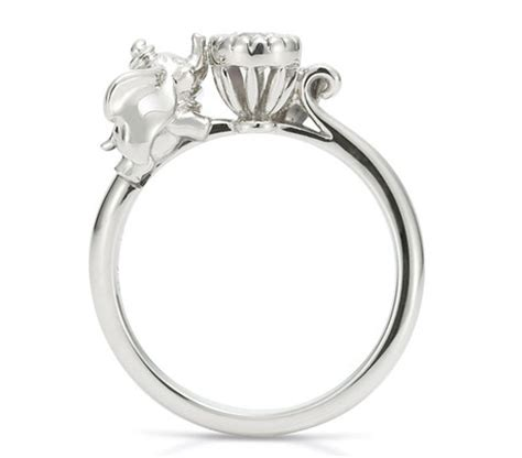 15 awesome disney engagement rings the little mermaid ring