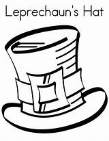 Hat Coloring Mad Hatter Leprechaun Sun Tea Hatters Colouring Birthday Leprechauns Printable Sombrero Template Getcolorings Starry Templates sketch template