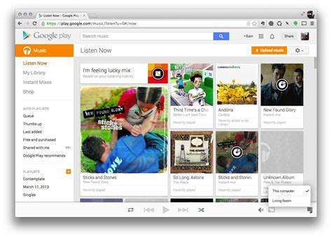 Google Play Music And Movies Add Chromecast Extension