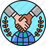 Agreement Icon International Partners Global Partnership Business