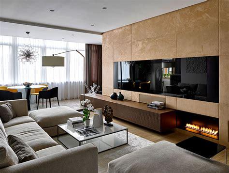 luxury moscow apartment  alexandra fedorova interiorzine