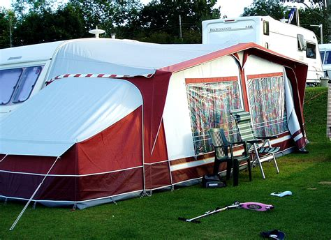 Porch Awning With Annexe by Awnings
