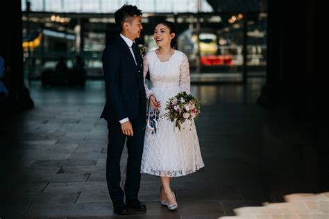 A 1950's Vintage Lace Gown For An Intimate And Quirky