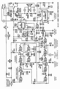 simple house alarm circuit alarm control control With simple sound alarm generator using cd4011