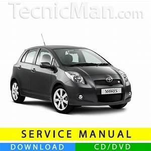 Toyota Yaris Service Manual  2005