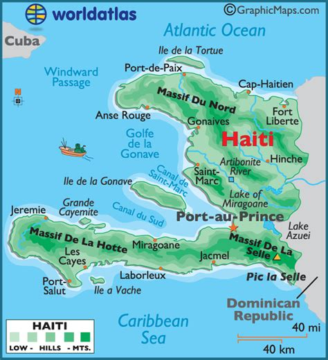 gudu ngiseng blog map  haiti
