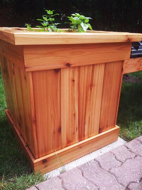 diy corner planter bench myoutdoorplans