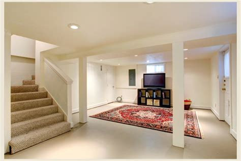 colorfully behr fun  functional basement spaces