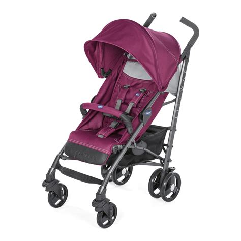 chaise chicco 3 en 1 chicco lite way 3 pushchair 2018 plum buy at