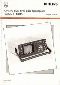 Philips Pm3070  Service Manual  Repair Schematics