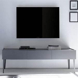 Petite Tv Ecran Plat : petit meuble de tv table television ecran plat maisonjoffrois ~ Nature-et-papiers.com Idées de Décoration