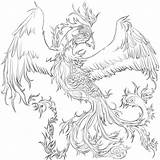 Phoenix Tattoo Bird Designs Tattoos Coloring Pages Wip Tinnu Rising Pheonix Drawing Deviantart Dandelion Meaning Collectioner Adult Sketch Template Jane sketch template