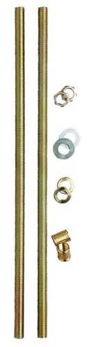 All Thread Lamp Pipe by Westinghouse 12 1 16 Inch All Thread Lamp Pipe Kit