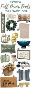 Beautiful Fall Decor Finds For A Classic Look A Blissful