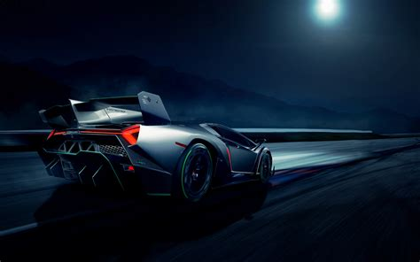Lamborghini Veneno Supercar 2 Wallpaper