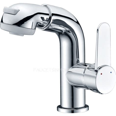 which side is water on a sink simple desing pullout side handle bathroom sink faucet