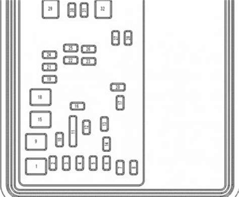 2005 Sebring Fuse Panel Diagram by Accessory Fuse Box E250 Autos Weblog