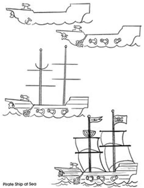 How To Draw A Pilgrim Boat by Learn To Draw A Pilgrim Ship Thanksgiving K 2