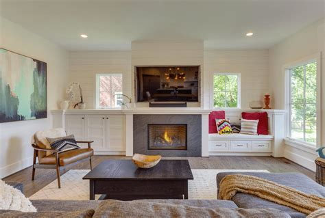 small white cabinet beautiful living rooms with built in shelving