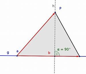 Seitenhalbierende Dreieck Berechnen Vektoren : abstand eines punktes zu einer geraden berechnen analytische geometrie mathe artikel ~ Themetempest.com Abrechnung