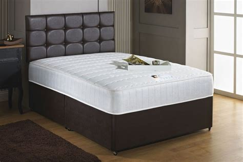 Divan Beds With Headboards by Savoy 4ft 6in 1000 Pocket Sprung Memory Foam Divan