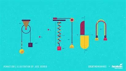Action Creativemornings Themes Theme Illustration Animation Cm