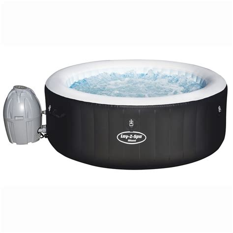 Layz Tub by Lay Z Spa Miami Tub Garden Furniture B M