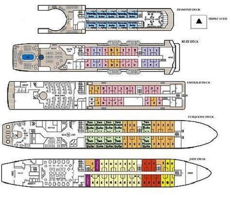 Prinsendam Deck Plan 2013 by August 2013