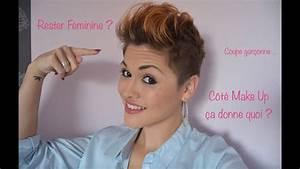 Comment Couper Les Cheveux Courts : comment rester f minine avec les cheveux tr s courts youtube ~ Farleysfitness.com Idées de Décoration