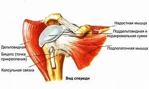При нагрузке болит плечевой сустав
