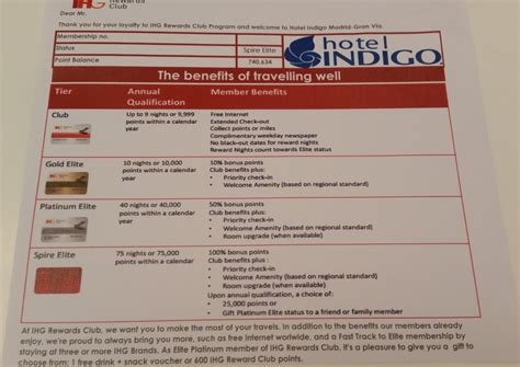 ihg rewards club elite benefit letter    hotels loyaltylobby