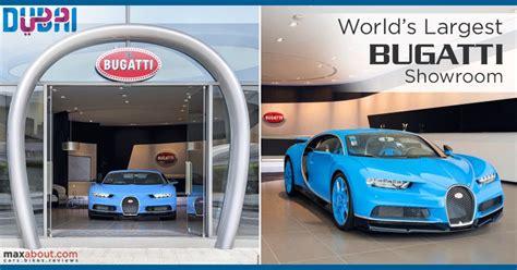 Bugatti Opens Its World's Largest Showroom In Dubai