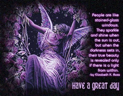 purple fairy good day myniceprofilecom
