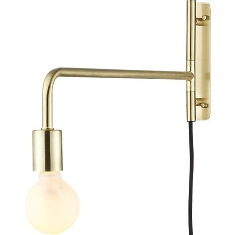 swing arm sconce swing arm brass wall sconce