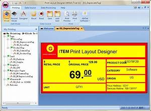 Print Layout Designer Screenshot Page