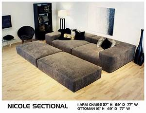 Nicole deep couch cozy movie pit couch conversation for Movie pit sectional sofa