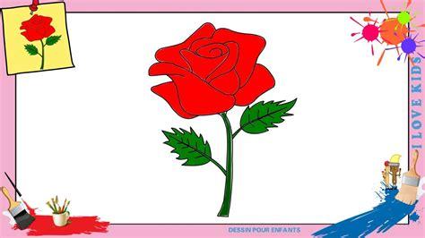 Comment Dessiner Une Rose Facilement Etape