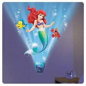 Little Mermaid Under the Sea Journey Night Light with