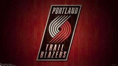 Blazers Portland Trail Wallpapers Lillard Damian Computer