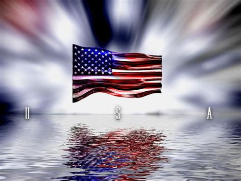 Happy Memorial Day Flag Desktop Wallpaper