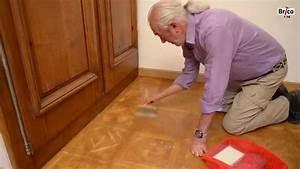 renover revernir un parquet vitrifie bricolage avec r With comment nettoyer un parquet en bois encrassé