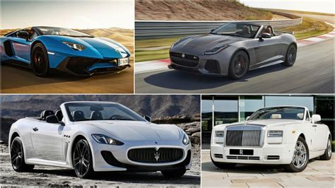 The 11 Most Expensive Convertibles In The World (2016