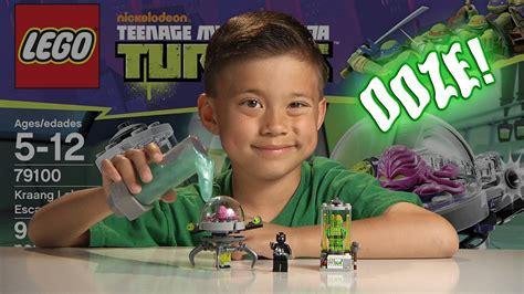 kraang lab escape mutagen ooze lego teenage mutant ninja turtles set  youtube