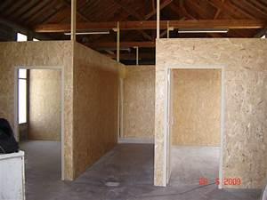 faire une cloison en bois cloisons en ossature bois au 33 With habiller un mur exterieur en bois 3 cloisons en ossature bois maisons ossature bois en kit tiro