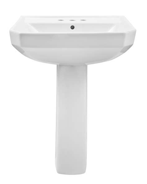 gerber brianne pedestal sink viper 174 4 quot centers standard pedestal bathroom sink gerber
